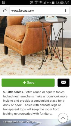 Like this look to for a side table