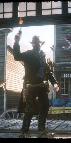 Cowboy, Arthur Morgan, Red Dead Redemption 2, video game, 1080x2160 wallpaper