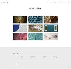 Entré WordPress theme comes packed with stunning portfolio layouts to make your work shine. #wordpress #webdesign #theme #layout #architecture #architect #interiordesign #decor #homedecoration #portfolio #furniture