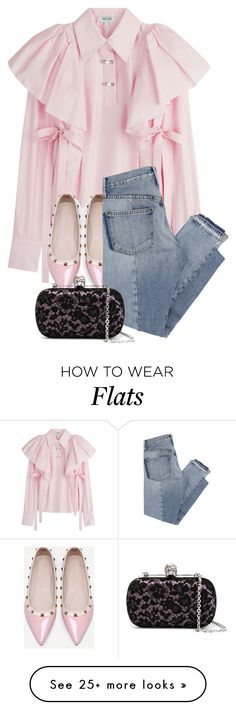 """""""it's up to you"""" by bluechrysalis on Polyvore featuring Kenzo, WithChic, Mix Nouveau and Alexander McQueen"""