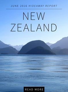 New Zealand's mountain scenery is glorious, the food and wine are often exceptional, some of the golf courses compare with the best in the United States and the trout fishing is unparalleled. Read Mr. Harper's review of his recent visit to this wonderful country.