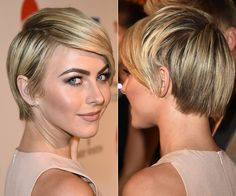 New Hair Styles Updo Short Hair Julianne Hough 69 Ideas - Jennifer Doscotch Short Hairstyles 2015, Edgy Haircuts, Round Face Haircuts, Cool Hairstyles, Modern Haircuts, Medium Hairstyles, Wedding Hairstyles, Hair Trends 2015, Short Hair Trends