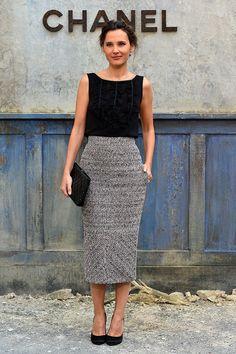 front row paris haute couture alta costura semanas de la moda otono invierno 2013 2014 - Virginie Ledoyen