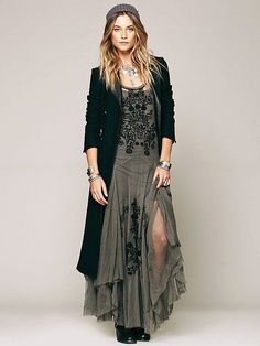 cool Even though a bit Boho, I'd wear this any day...