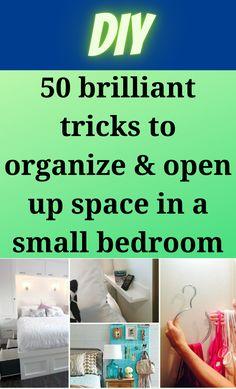 Small Bedroom Organization, Organization Hacks, Diy Hacks, Cleaning Hacks, Ikea Kallax Shelving, 1000 Life Hacks, Health And Fitness Articles, Tips & Tricks, Funny Messages