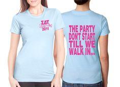 #Sorority Spring Fling Shirts #SigmaDeltaTau #SDT #SigDelt #Party #Screenprinting