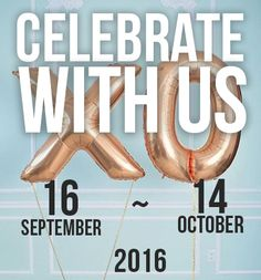 🎂 🎉 It's our birthday! Come celebrate with us 🎉 🎂 #love10 #havetoparty #havetolove #weare10 www.havetolove.com