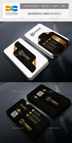 Business Card Bundle 2 in 1-Vol 70 - Corporate Business Cards