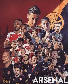 The Emery era. Arsenal Badge, Arsenal Fc Players, Arsenal Football, World Football, Football Soccer, College Basketball, Arsenal Wallpapers, Soccer Art, International Soccer