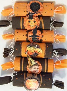 Vintage Inspired Halloween Party Cracker Surprise