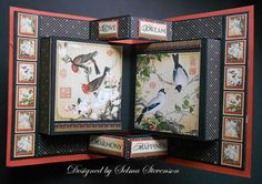 Selma's Stamping Corner and Floral Designs: Graphic 45 Bird Song Card and Tutorial