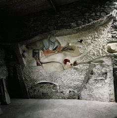 Kurt Schwitters Merz Barn. I found the reconstruction in London 2011 very inspirational. Schwitters is MY Dada artist!