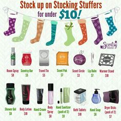 Great for stocking suffers or teacher gifts www.CarrieSmellsGood.com