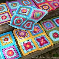 WIP Eye Candy: Block a Week CAL 2014 - Look At What I Made