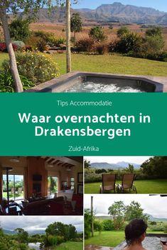 Waar overnachten in Drakensbergen? Na lang zoeken had ik écht een pareltje gevonden. Echt een prachtig verblijf met een fantastisch uitzicht. En ja, die jacuzzi sprong ook in het oog! #jacuzzi #southafrika #zuidafrika #drakensbergen #reistips #reisblog #blogafrika #afrikablog #travelblog #traveltips #highlights #hoogtepunten #bezienswaardigheden #tips #accommodatie #hoteltips #hotels #overnachten #slapen Where To Go, South Africa, Road Trip, Travel, Rice, Viajes, Road Trips, Destinations, Traveling