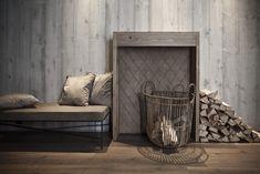 Auch Holz kann zur Dekoration werden - der ländliche Stil ist dir damit sicher. Foto: FINE