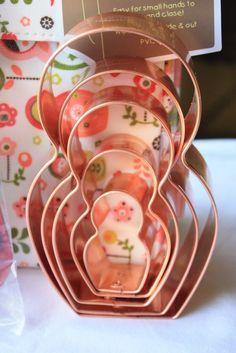 Munchkin Munchies: Matryoshka (Russian Nesting Dolls) Themed Giveaway  Need to put these Matryoshka Cookies Cutters on my Wish List too!