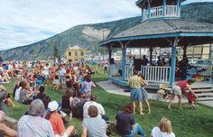 Dawson City Music Festival in Dawson City, Yukon.