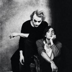 Cillian Murphy and Heath ledger .