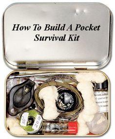 How To Build A Pocket Survival Kit (Building Your Own Survival Kits Book 1) eBook: Connor Langdon: Amazon.com.au: Kindle Store
