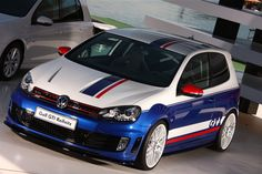 APR Stage 3 Golf GTI Reifnitz on display at Volkswagen AG's booth at the worlds largest VW car show, Worthesee in Austria! Vw Golf Tdi, Vw Tdi, Volkswagen Golf Mk2, Supercars, Vw Cars, Racing Stripes, Car Wrap, Sport Cars, Slammed