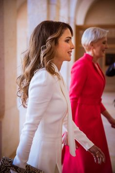 King Abdullah and his wife Queen Rania of Jordan met with Polish President Andrzej Duda and his wife Agata Kornhauser-Duda at the Royal Palace on November 6, 2016 in Amman. Queen Rania and First Lady Agata Kornhauser-Duda visited Jordan's Children's Museum in Amman on Sunday.
