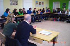 Gespräch mit den Berufsschülern in Mühlhausen am 13. Februar 2012