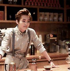 J'ai fait du café juste pour toi