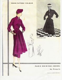 Vogue 1190 by Paquin | 1952