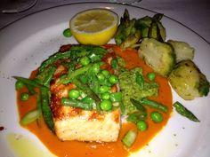 Salmon at Ralph Lauren restaurant in Chicago. The best to date 07/17/13