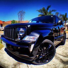 black Jeep Liberty Jeep Liberty Sport, Black Jeep, Jeep Cars, Jeep Cherokee, Jeep Life, Car Wallpapers, Jeep Wrangler, Jeeps, Dream Cars
