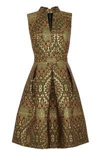 Artisan Jacquard Dress