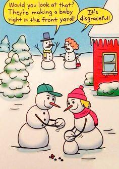Snowmen humor ;-)