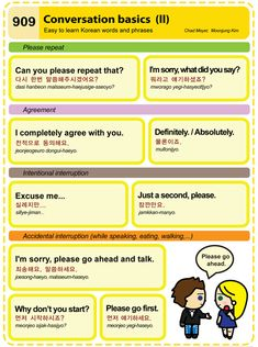 Easy to Learn Korean 909 - Conversation Basics (Part Two) Chad Meyer and Moon-Jung Kim EasytoLearnKorean.com An Illustrated Guide to Korean
