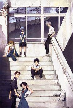 Evangelion 1.0 #anime                                                                                                                                                     Más