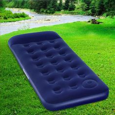 Bestway Inflatable Air Bed Featuring a sturdy coil beam construction and a 30cm thick built in pillow, the air bed is ideal for indoor and outdoor use.  #mattress #inflatablemattress #airmattress #airbed