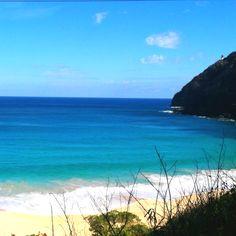 Makapu'u:  One of my favorite beaches in Hawaii.
