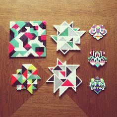 Hama perler bead designs by Camilla Drejer