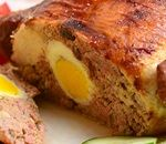 """Chicken relleno or Stuffed chicken comes from the Spanish word """"Rellenar"""" which means """"to stuff. The chicken is stuffed with ground pork, vegetables, hard boiled egg, chorizo or ham, and then baked..."""