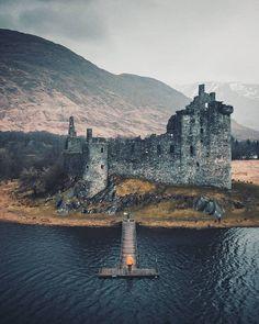🌍 Il meraviglioso Kilchurn Castle in Scozia. Tower Bridge