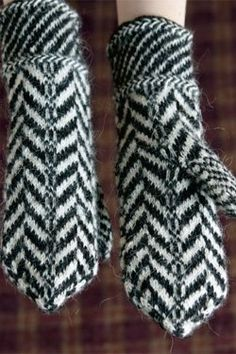 Traditional Lithuanian Pattern Mittens - Knitting Daily