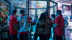 """Adidas Tango League Takes On Los Angeles for Release of """"Ocean Storm"""" Pack Street Football, Ocean Storm, Night Photos, Tango, Soccer, La Galaxy, Futbol, European Football, European Soccer"""