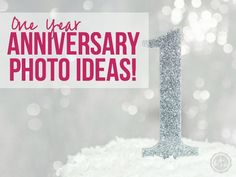 One Year Anniversary Photo Ideas! | Happily Ever After, Etc.
