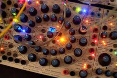 Buchla 200e synthesizer module