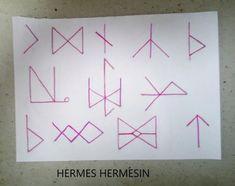 Runes, Triangle, Magic, Tattoos, Tatuajes, Tattoo, Tattoo Illustration, Irezumi, A Tattoo