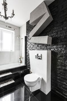 Podobny obraz Decor, House, Interior, Vanity, Home Decor, Bathroom Vanity, Bathroom, Midcentury Modern, Bathroom Design
