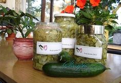 Svéd uborka Pickles, Cucumber, Dairy, Cheese, Food, Essen, Pickle, Yemek, Zucchini