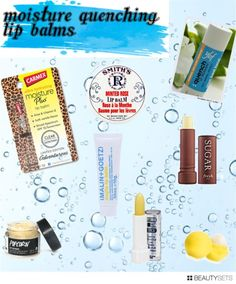 Lip quenchers! Prime Beauty Blog #lipbalm