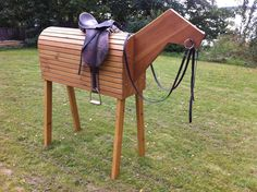 Polo wooden horse design