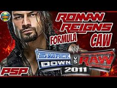 WWE: 2011 How to create Roman Reigns PSP SvR 2011- SvR 2011 #PSP #CAWs [...